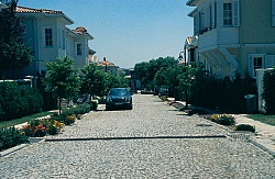 Part of roads in Kemer Country